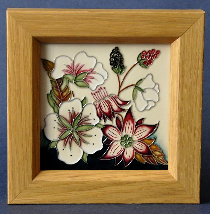 Moorcroft Pottery Bramble Revisited PL6 Plaque Alicia Amison
