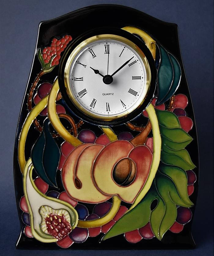 Moorcroft Pottery Queen's Choice CL3 Clock Emma Bossons  Open Edition