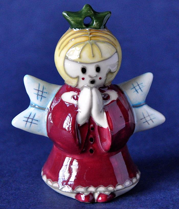 Moorcroft Pottery MOD7 Model Christmas Fairy Rob Tabenor Open Edition