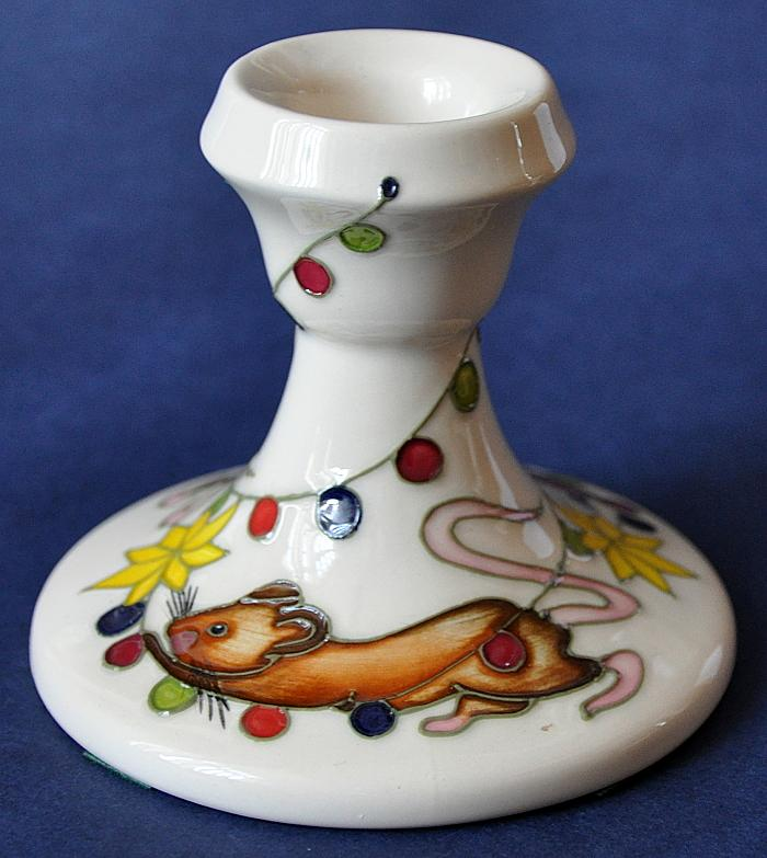 Moorcroft Pottery Christmas Partytime 98/3