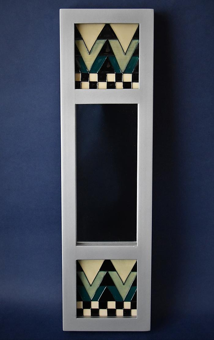 Moorcroft Pottery Derngate Mirror Mackintosh Collection Emma Bossons Open Edition