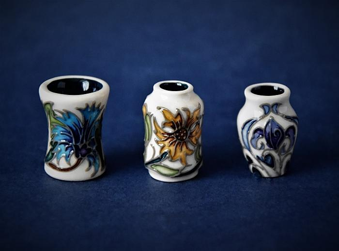 Moorcroft Pottery Dolls' House Trio Emma Bossons Open Edition