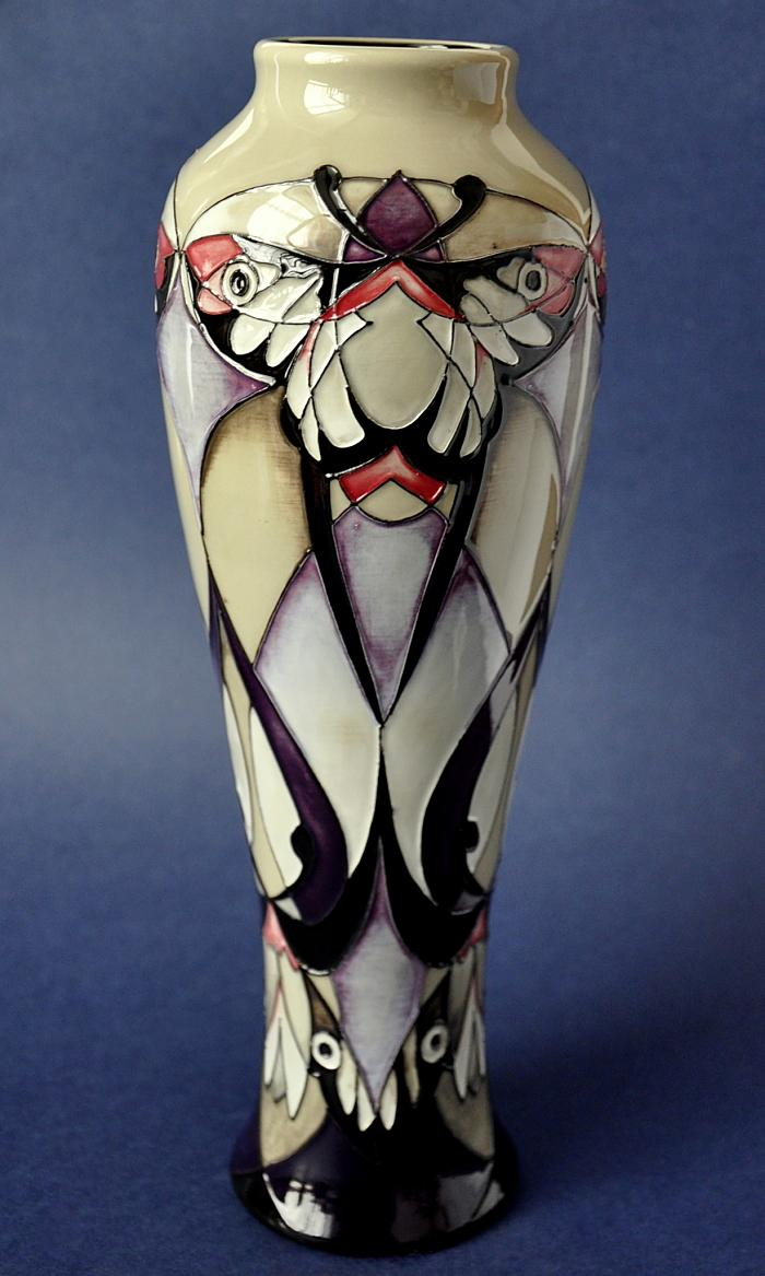 Moorcroft Pottery 121/10 Emperor Moth Vicky Lovatt Limited Edition of 50