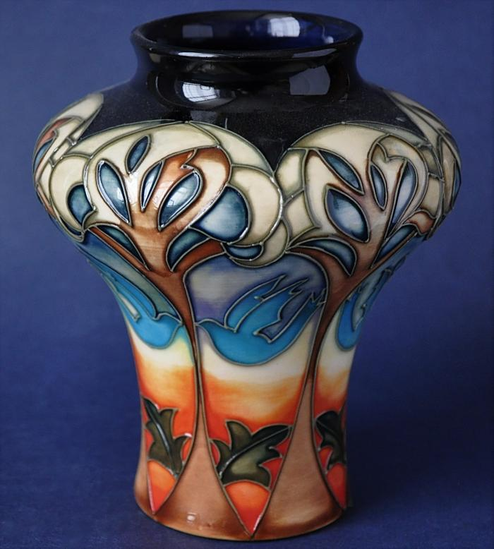 Moorcroft Pottery 10/5 Eventide House Kerry Goodwin Limited Edition of 150