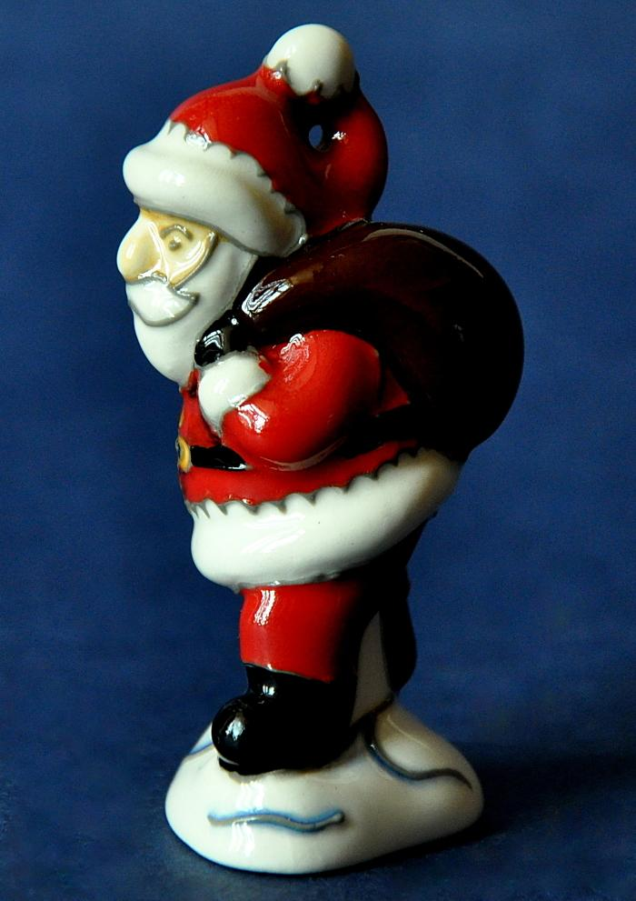 Moorcroft Pottery MOD22 Model Father Christmas Rob Tabenor Open Edition