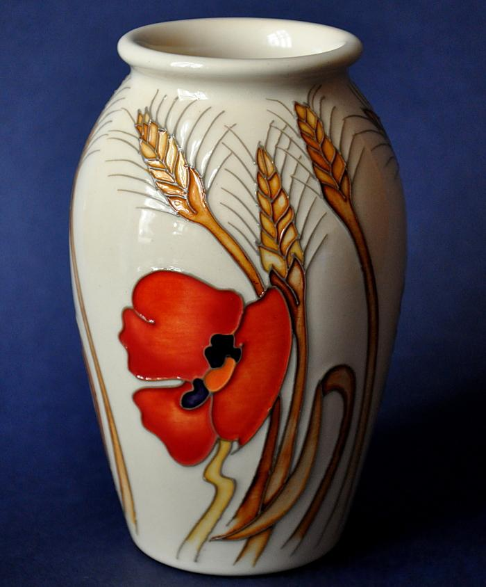 Moorcroft Pottery 393/5 Harvest Poppy Kerry Goodwin and Emma Bossons Open Edition
