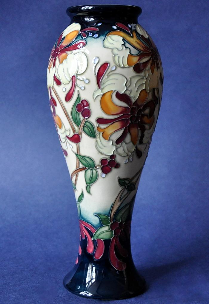 Moorcroft Pottery Honeysuckle Haven 75/8 Rachel Bishop Open Edition
