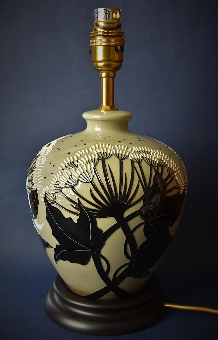Moorcroft Pottery L8/6 Summer Silhouette Lamp Vicky Lovatt An Open Edition
