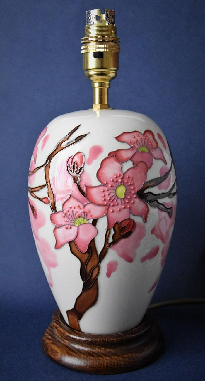 Moorcroft Pottery Lamp L102/7 Confetti Emma Bossons FRSA Open Edition