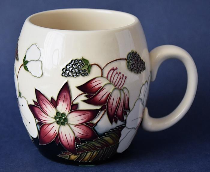 Moorcroft Pottery MU2 Bramble Revisited Alicia Amison Open Edition