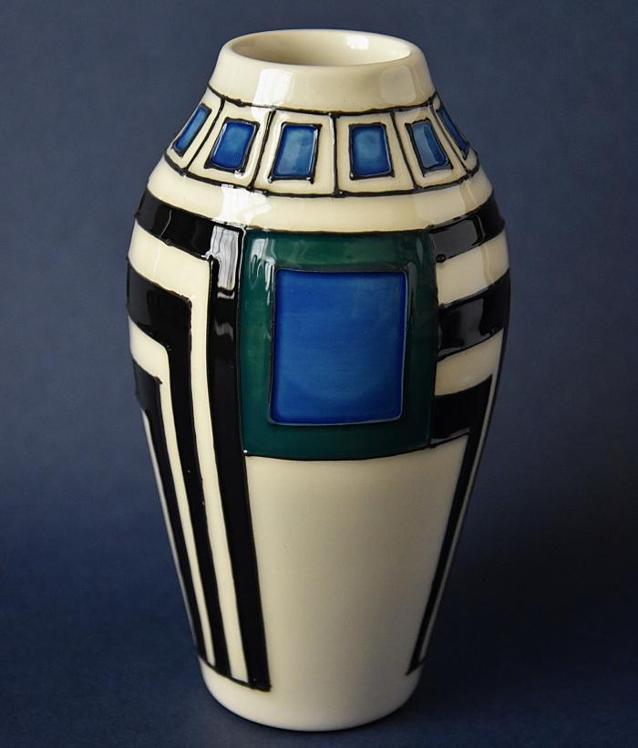 Moorcroft Pottery Mackintosh Collection Modernity 200/5 Emma Bossons Open Edition