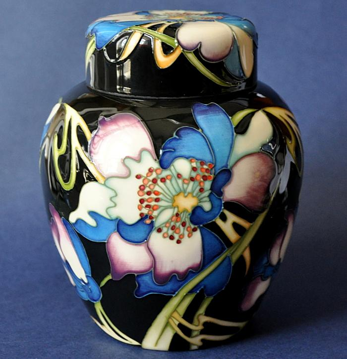 Moorcroft Pottery Night Time Serenade 769/6 Kerry Goodwin