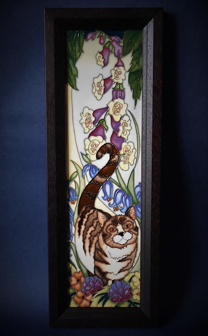 Moorcroft Pottery PLQ10 Plaque The Mayflower Paul Hilditch A Limited Edition of 15 Order by Telephone 01789 269405