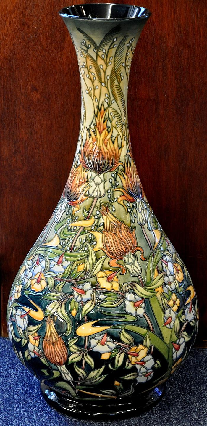 Moorcroft Pottery Prairie Summer 80/20 Rachel Bishop