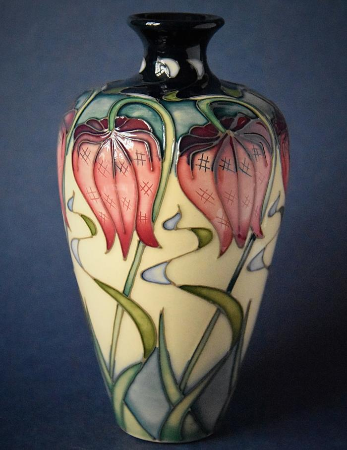Moorcroft Pottery Rachel Bishop Collection 72/6 Pretty Penny Open Edition