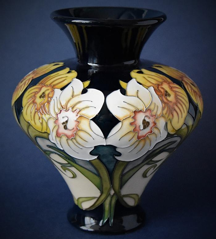 Moorcroft Pottery Rachel Bishop Collection Winds of March 11/6 A Limited Edition of 40