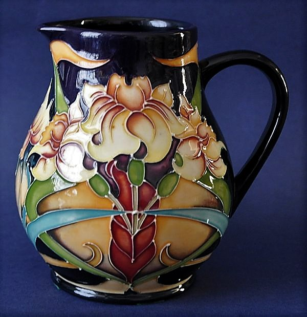 Moorcroft Pottery Royal Gold Jug