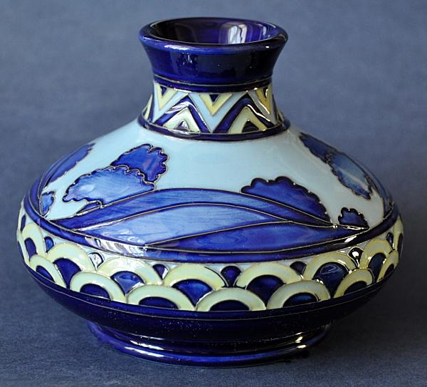 Moorcroft Pottery Second Dawn Blue