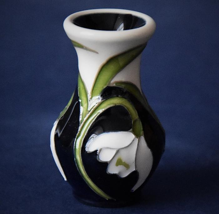 Moorcroft Pottery 49/2 Soulful Cheer Nicola Slaney An Open Edition