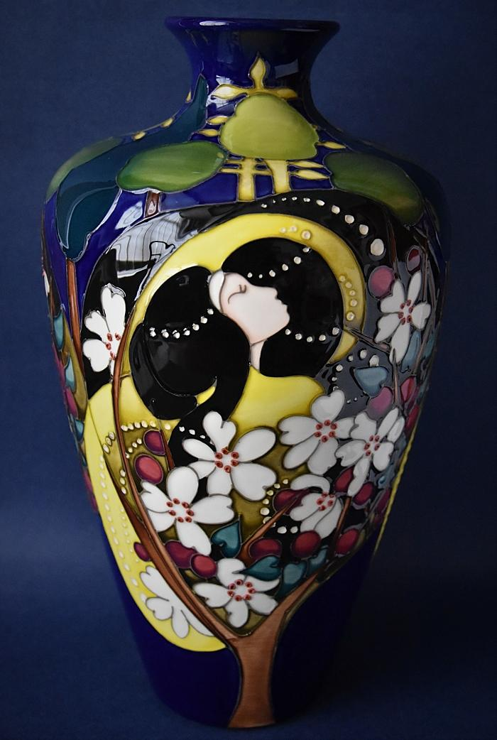 Moorcroft Pottery 72/12 Tamlaine Emma Bossons FRSA A Limited Edition of 30 Order by Telephone 01789 269405