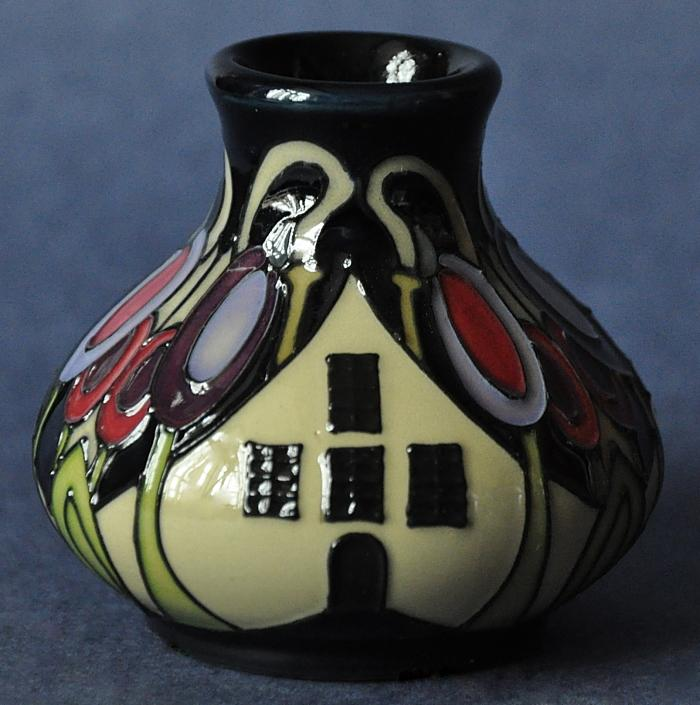 Moorcroft Pottery The Hamlet 32/2 Kerry Goodwin Open Edition