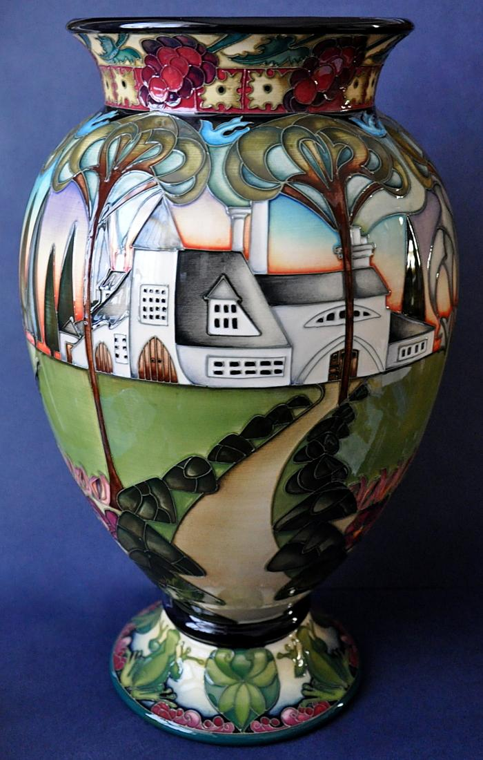 Moorcroft Pottery The Home 370/16 Kerry Goodwin Edition of 50