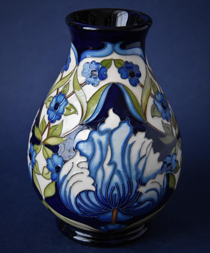 Moorcroft Pottery William Morris Collection 7/5 Pimpernel Forever Rachel Bishop An Edition of 50