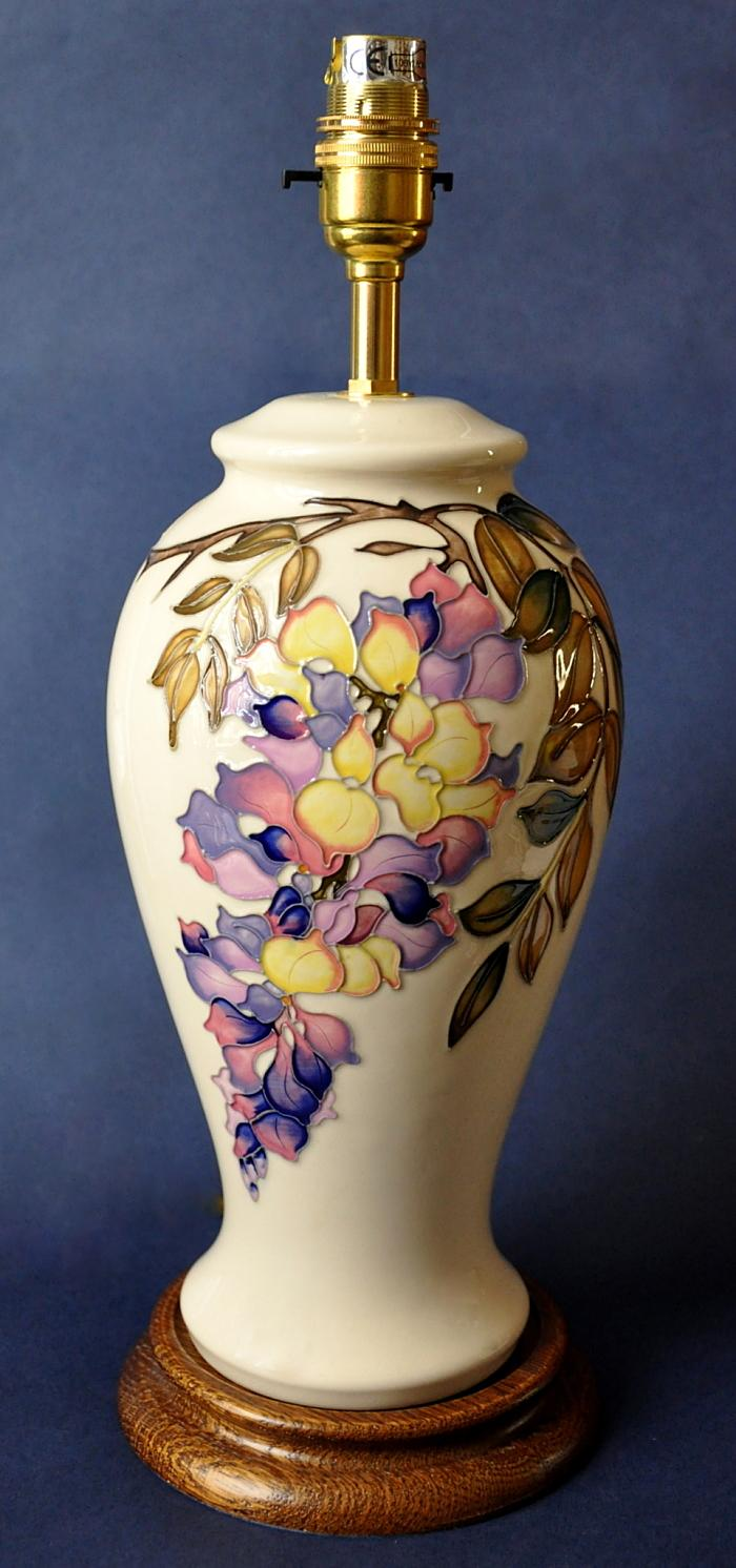 Moorcroft Pottery Lamps Wistful L46/10 Kerry Goodwin