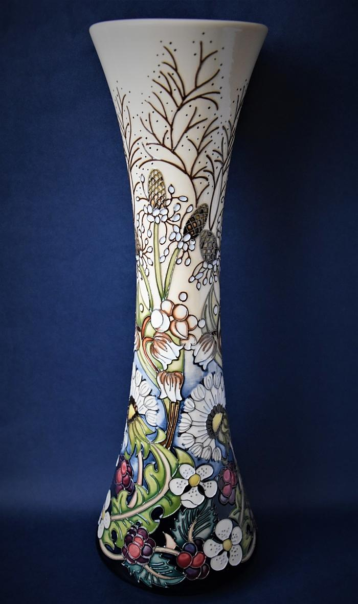 Moorcroft Pottery Rachel Bishop Collection Time Flies 365/15 Limited Edition of 50