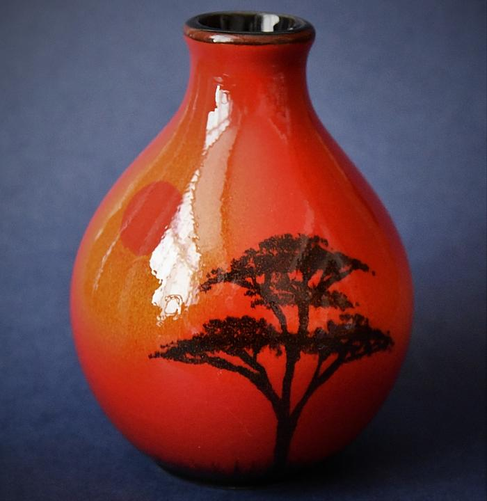 Poole Pottery African Sky Bud Vase