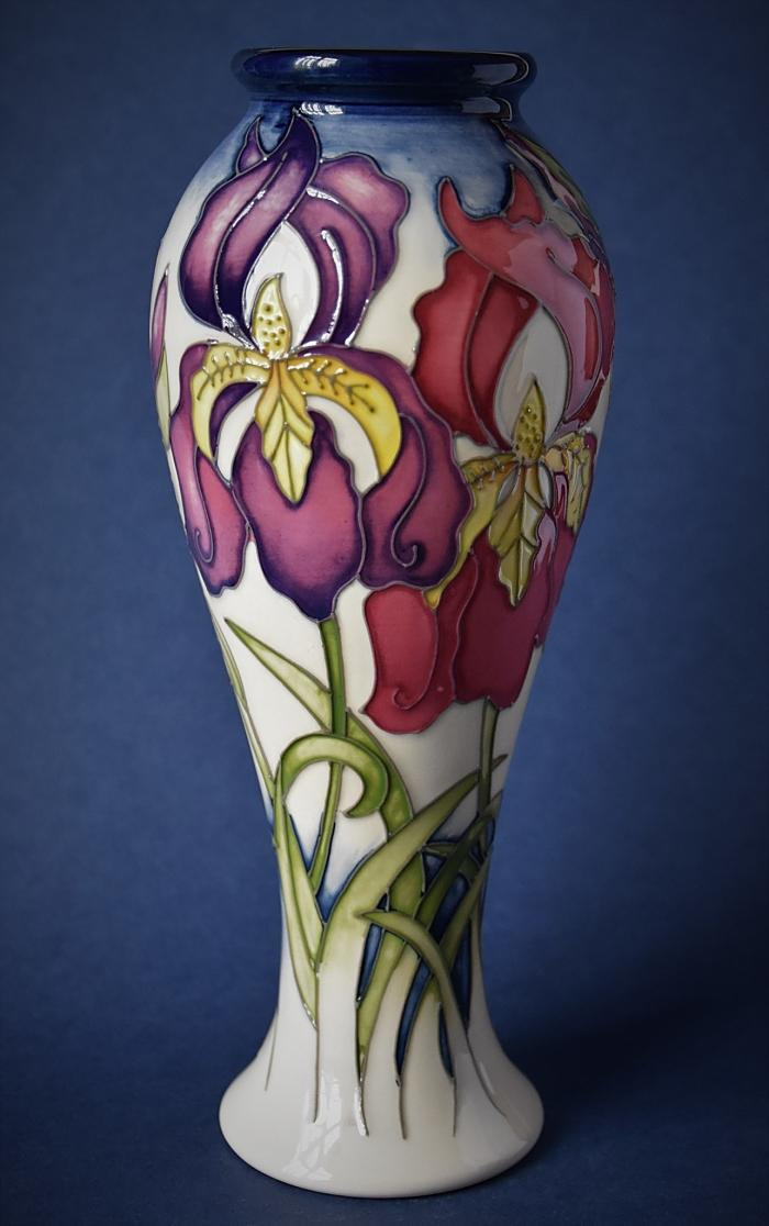 Moorcroft Pottery Rachel Bishop Collection A Silver Salute 75/8 Numbered Edition