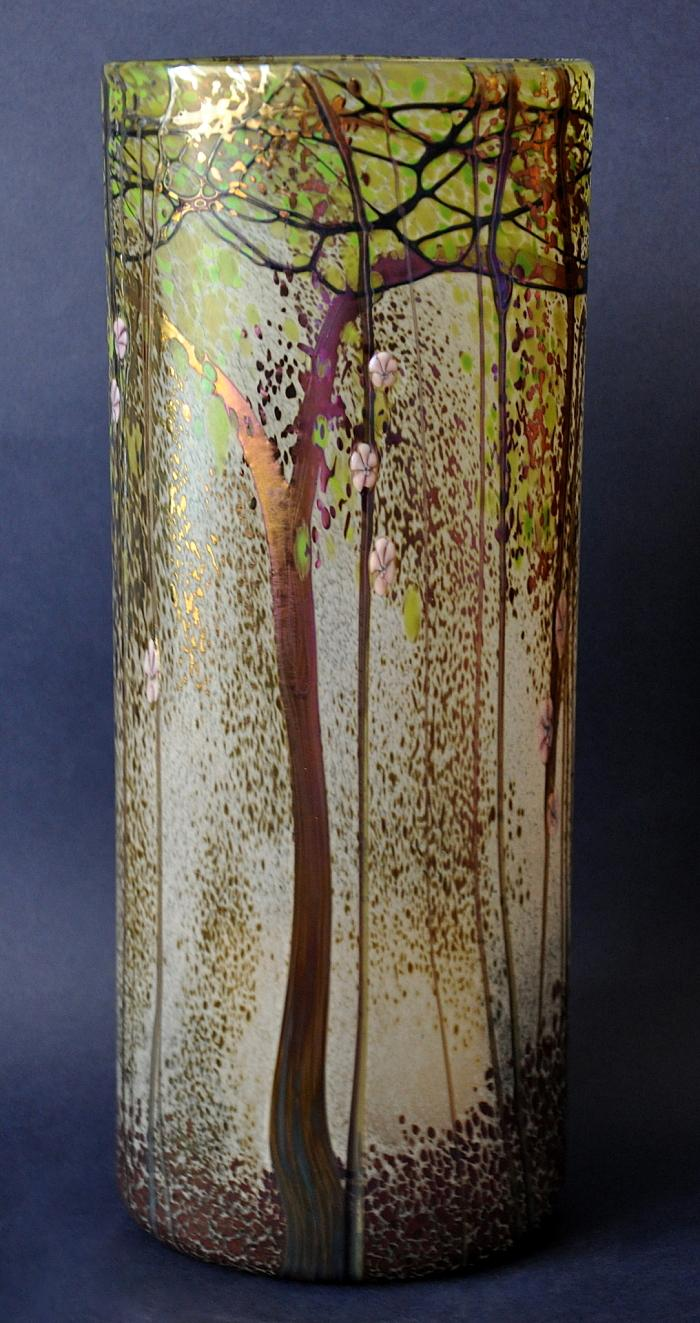 Richard Golding Glass Trees Trial Vase