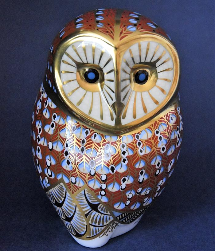 Royal Crown Derby Barn Owl
