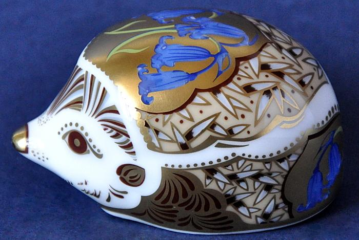 Royal Crown Derby Bluebell Hedgehog