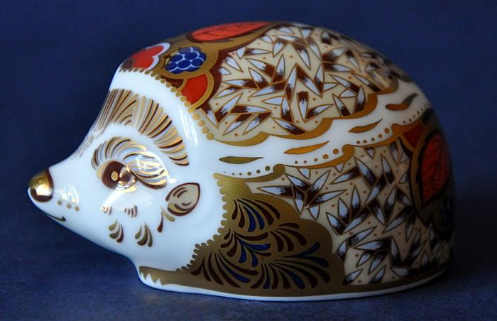 Royal Crown Derby Bramble Hedgehog