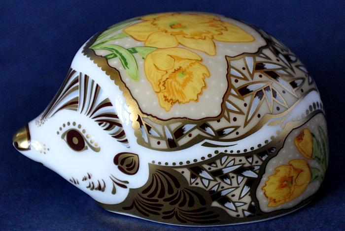 Royal Crown Derby Daffodil Hedgehog