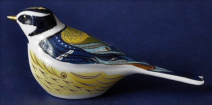 Royal Crown Derby Garden Great Tit