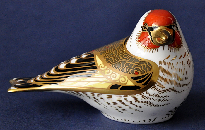 Royal Crown Derby Goldfinch