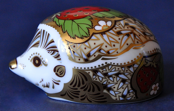 Royal Crown Derby Strawberry Hedgehog