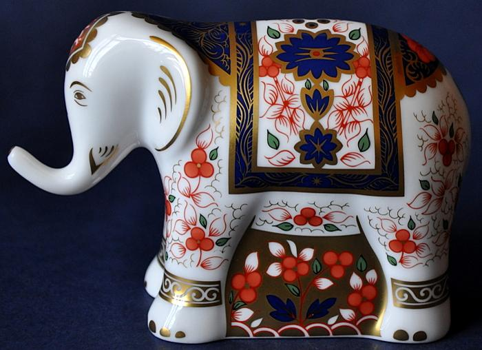 Royal Crown Derby Old Imari Elephant Infant