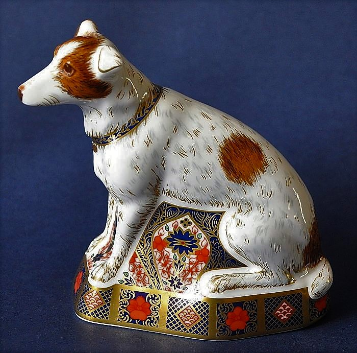 Royal Crown Derby Old Imari Jack Russell Limited Edition of 500