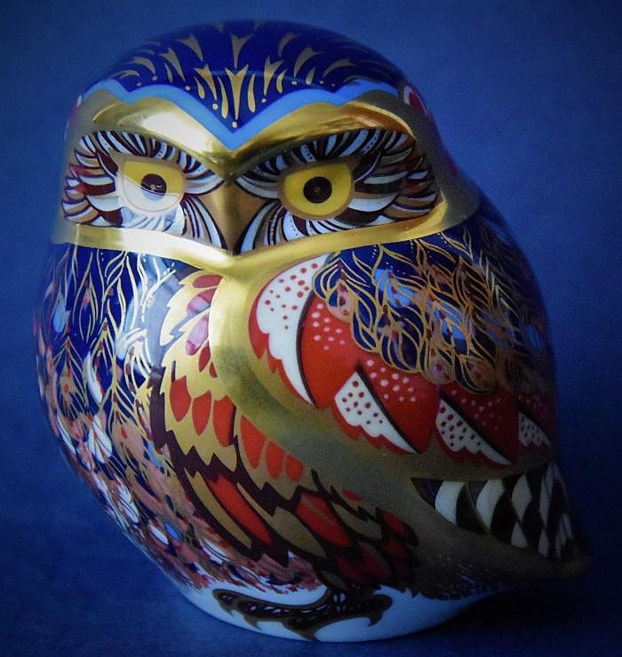 Royal Crown Derby Little Owl