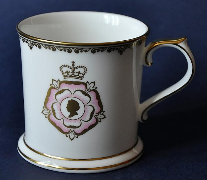 Royal Crown Derby Longest Reigning Monarch Commemorative Beaker Limited Edition of 750