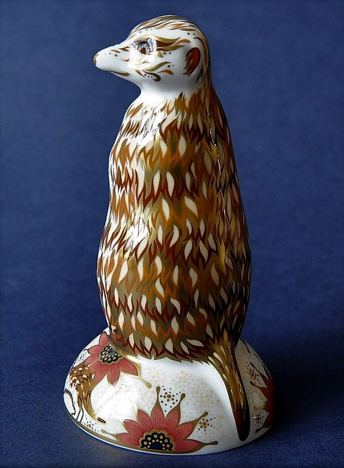 Royal Crown Derby Meerkat