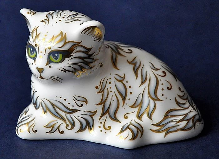 Royal Crown Derby Millie the Kitten