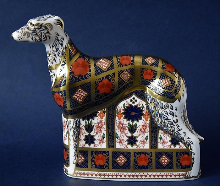 Royal Crown Old Imari Solid Gold Band Lurcher