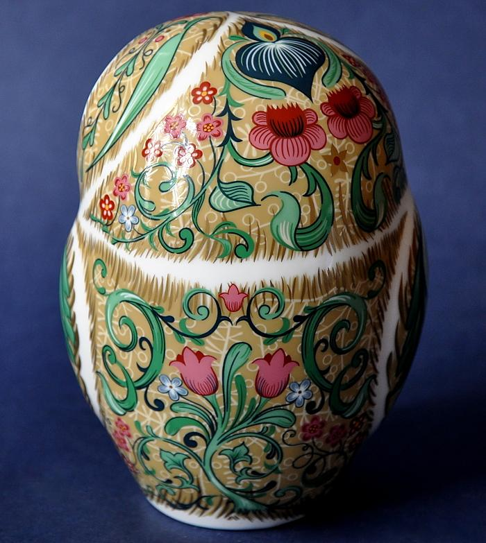 Royal Crown Derby Parchment Owl