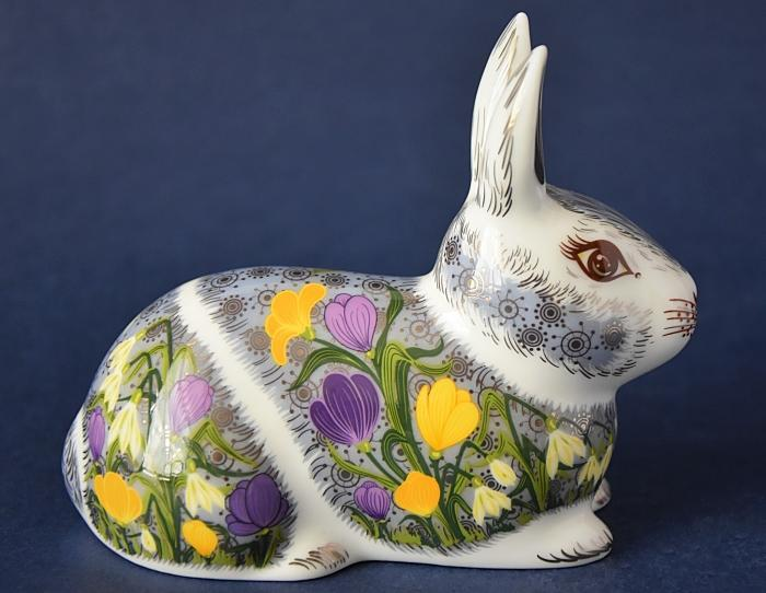 Royal Crown Derby Springtime Bunny