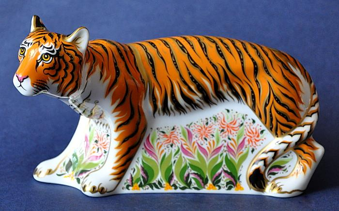 Royal Crown Derby Sumatran Tiger