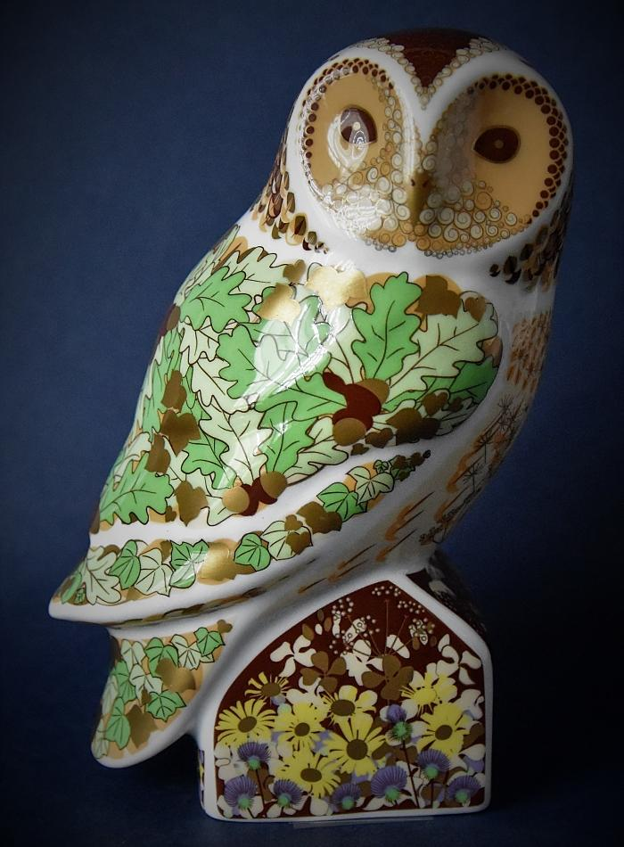 Royal Crown Derby Woodland Owl